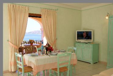 Appartamenti in affitto di diverse tipologie con aria condizionata  Residence Riva Azzurra Sardegna